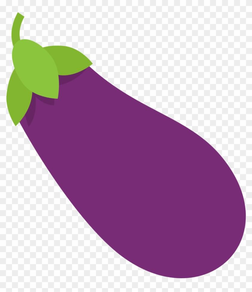 File Emojione 1f346 Svg Eggplant Clipart Png Free