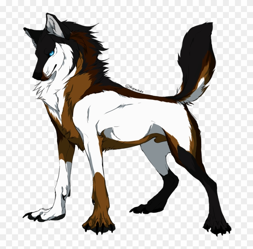 - Wolf Coloring Pages Free Coloring Pages - Anime Wolf Male - Free  Transparent PNG Clipart Images Download