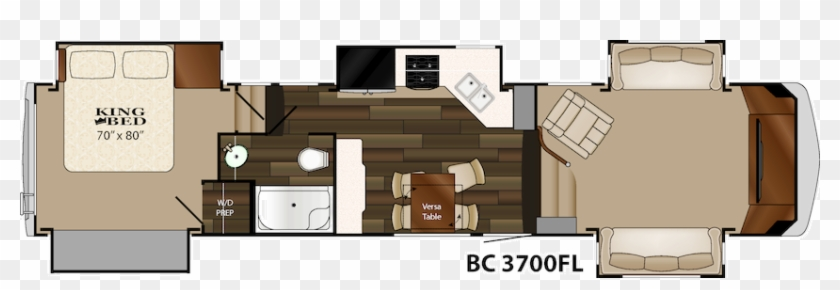 The 2015 Heartland Big Country 3700fl Floor Plan - Recreational Vehicle #954012