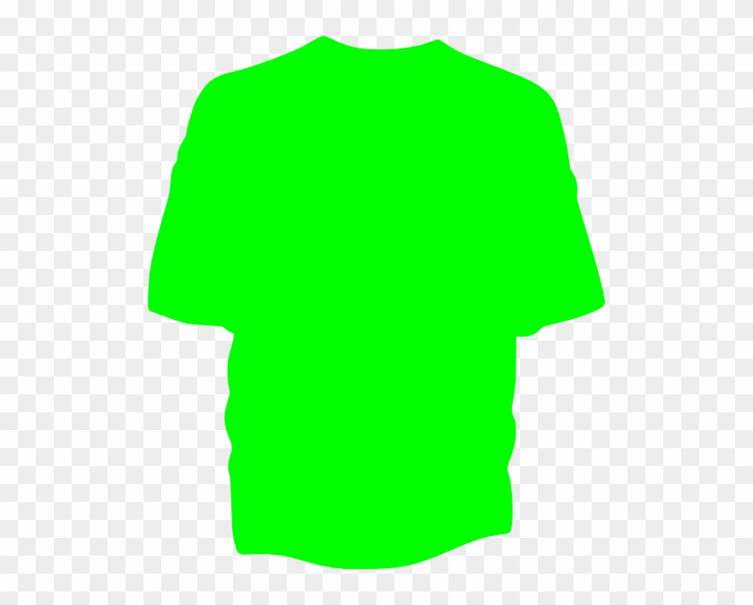 Tshirt Green Clip Art At Clker - Clker Com Green T Shirt #954066