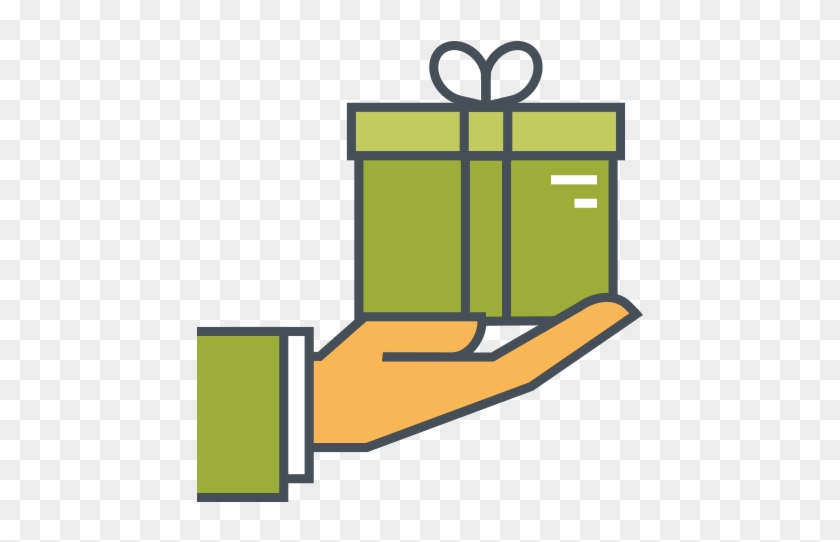 Gift Card - Gift Icon Png #954575