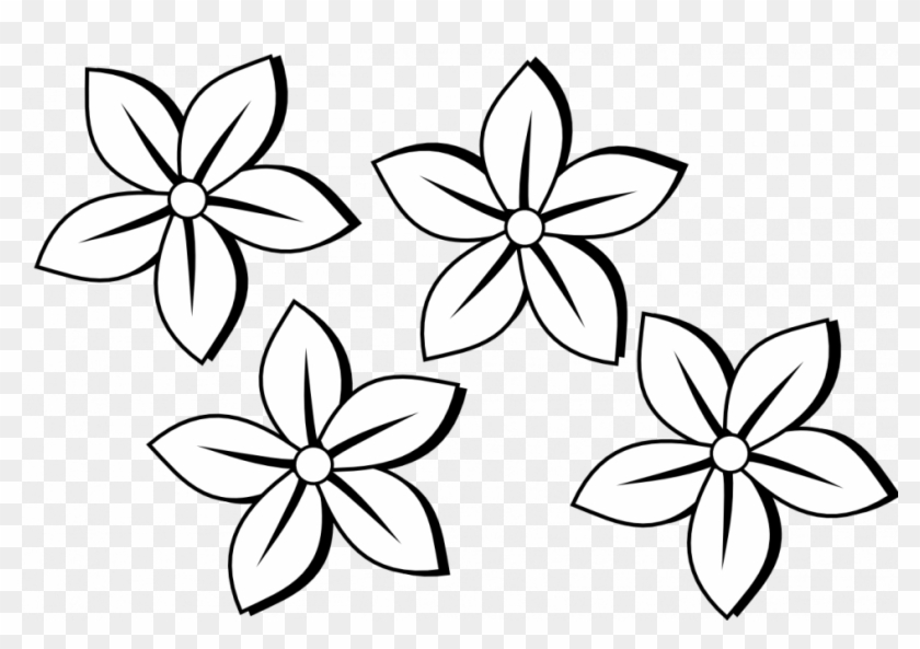 Drawing Of A Flower Stem Tags Drawing Of A Flower Lego Line Drawing Simple Flower Free Transparent Png Clipart Images Download