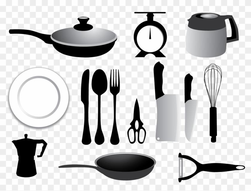 Knife Kitchen Utensil Fork Spoon - Kitchen Utensil #954958