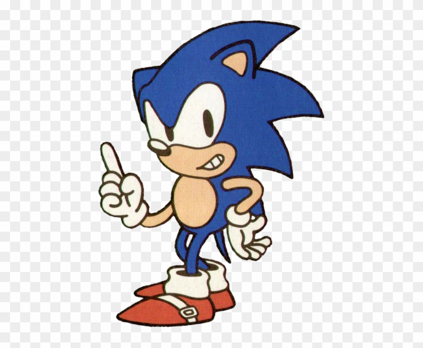 Sonic 1 Japan Stock Artwork 1 Sonic The Hedgehog 1991 Artwork Free Transparent Png Clipart Images Download