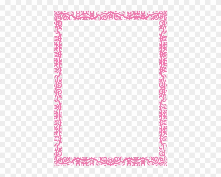 Pink Cliparts Borders - Black Magic Protection Spell - Free