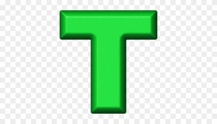 Etc > Presentations Etc Home > Alphabets > Refrigerator - Letter T In Green #955065