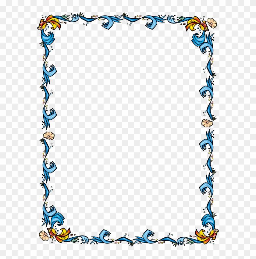 Page Border Designs - Certificate Border Free Download #955080