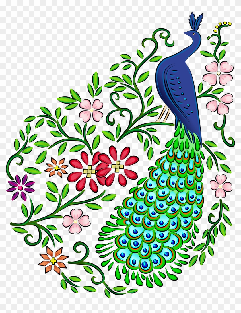 Pretty Peacock Easy Drawings Www Picturesboss Com