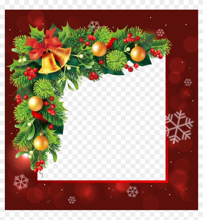 Christmas Greetings Frames - Christmas Borders And Frames - Free ...