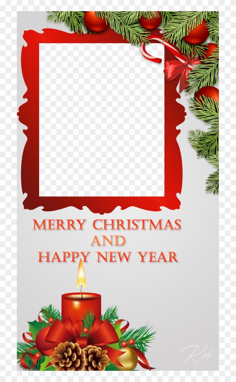 beautiful christmas frame merry christmas picture frame - Free Christmas Photo Frames