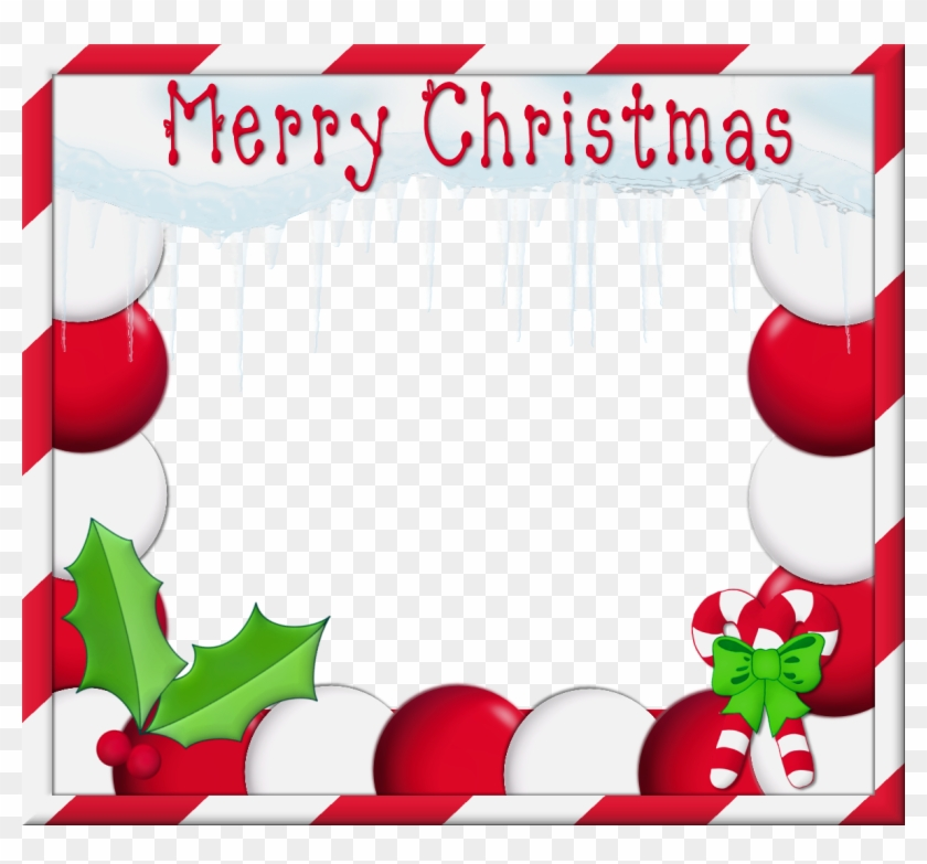0, - Merry Christmas Frame For Facebook - Free Transparent PNG ...