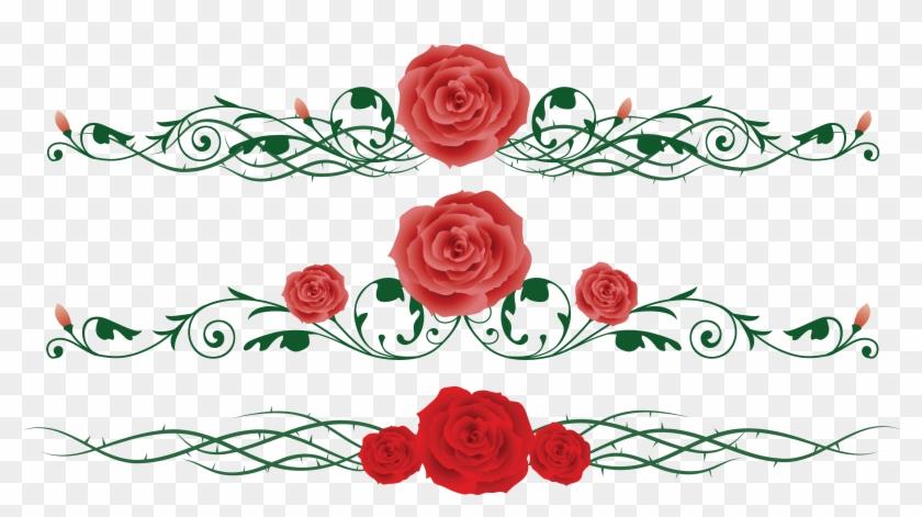 Rose Vine Flower Thorns, Spines, And Prickles Clip - Free Rose Vine #955272