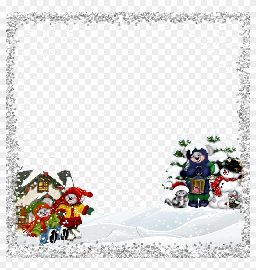 Kids - Minion Christmas Frame Png - Free Transparent PNG Clipart ...