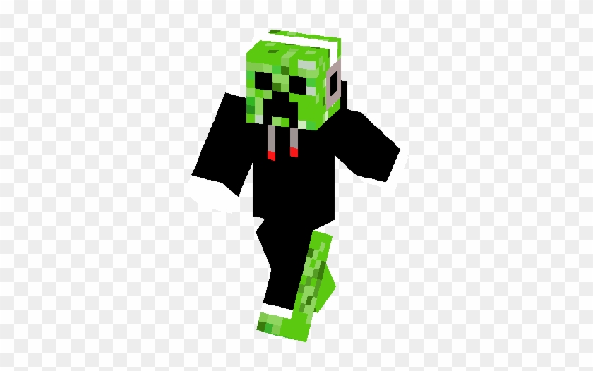 Cool Creeper Skin Minecraft Skin Cool Chicken Free Transparent Png Clipart Images Download