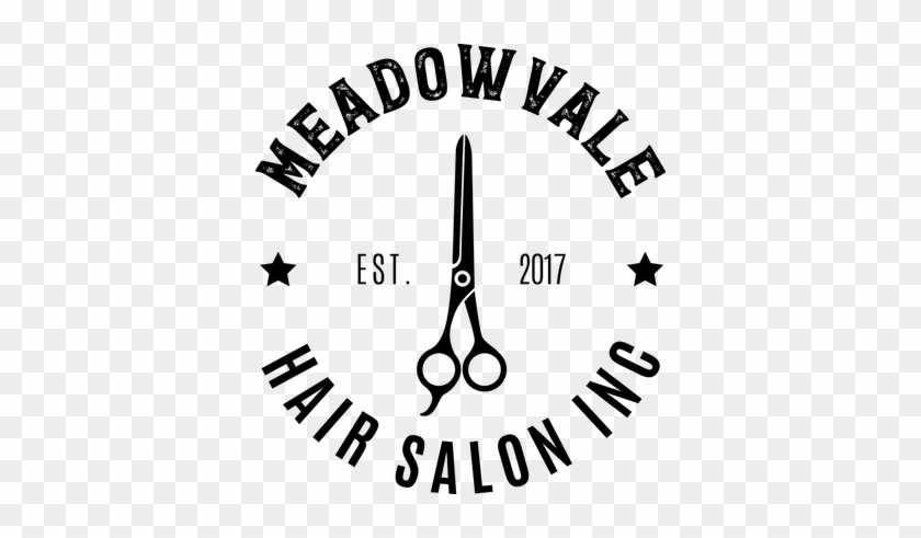 Meadowvale Hair Salon Logo Beauty Salon Free Transparent Png Clipart Images Download