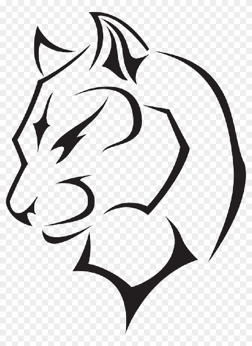 Panther Drawings Black Panther Animal Outline Free Transparent Png Clipart Images Download