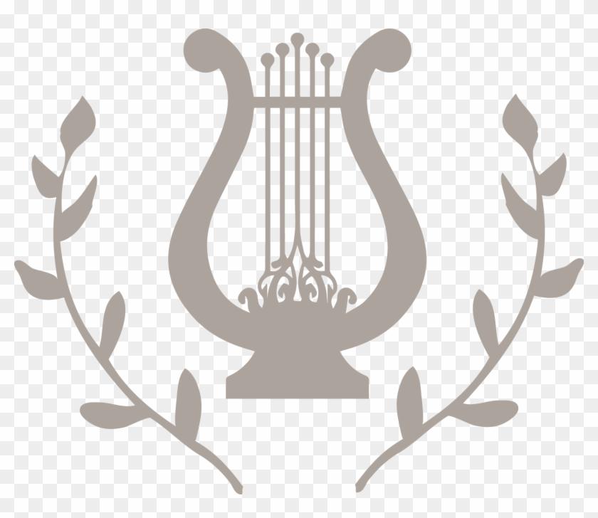 Apollo Greek God Symbol Lyre Free Transparent Png Clipart Images