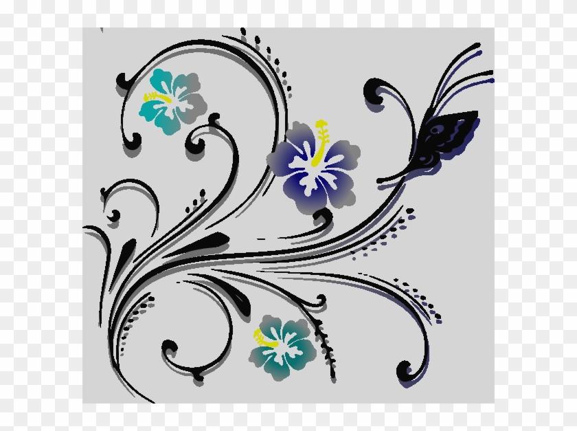 Clip Art Flowers And Butterflies #956914