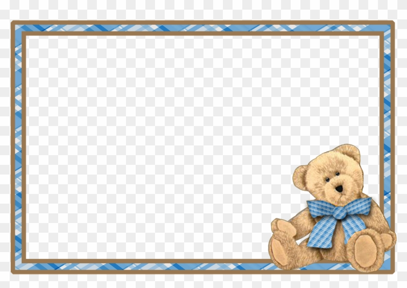 Decoupage - Teddy Bear Frame Png - Free Transparent PNG Clipart ...