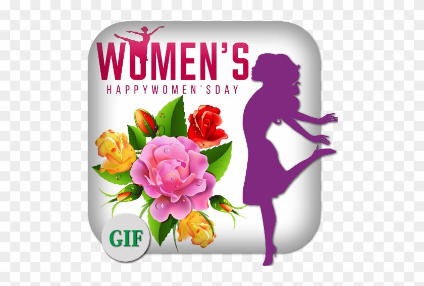 Happy Women's Day Gif - Aihome Diy 5d Diamond Embroidery Painting Butterfly #957339