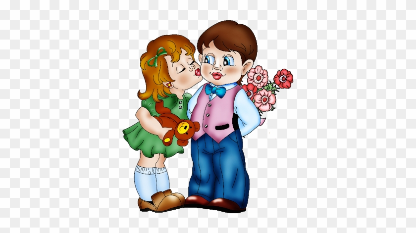 Cute Girl And Boy Valentine Images Girl Boy Love Cartoon Png
