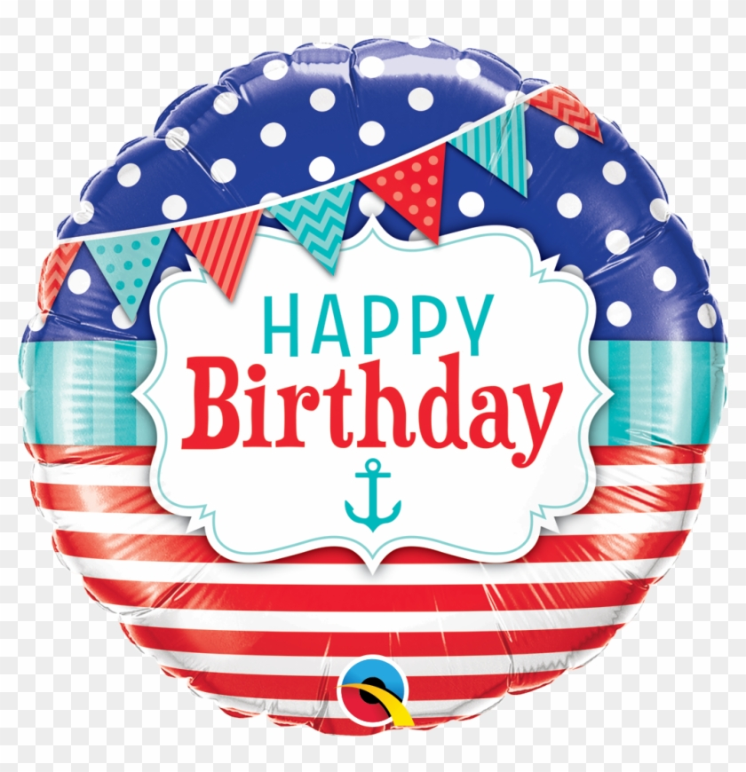 Nautical - Balloons Happy Birthday Party Png #957791