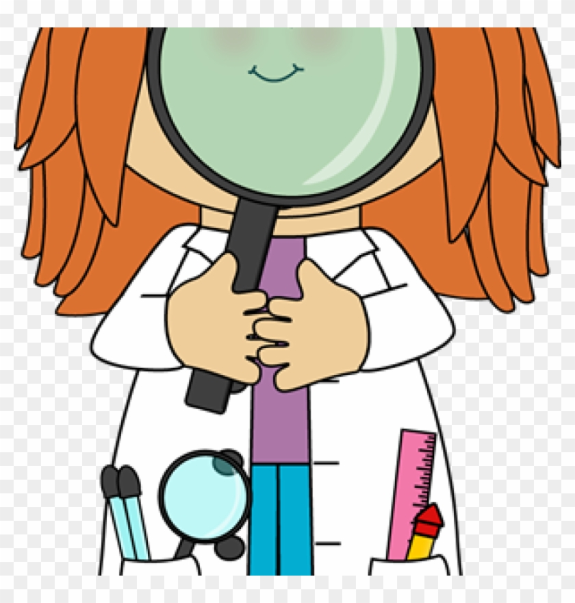 Science Clip Art Science Clip Art Science Images Free - Scientist With Magnifying Glass Clipart #957811