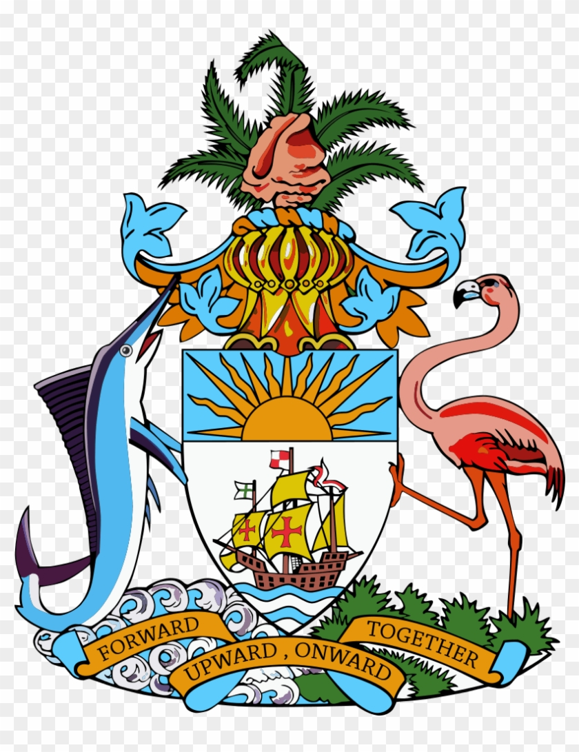 Bahamas Clipart Teacher - Bahamas Coat Of Arms #958354