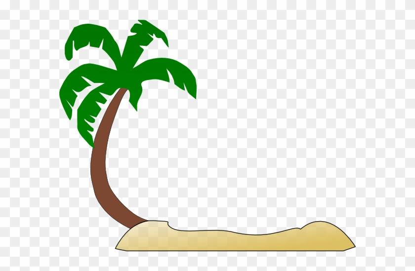 Palm Tree Beach Clipart - Tropical Palm Tree Clip Art #958563
