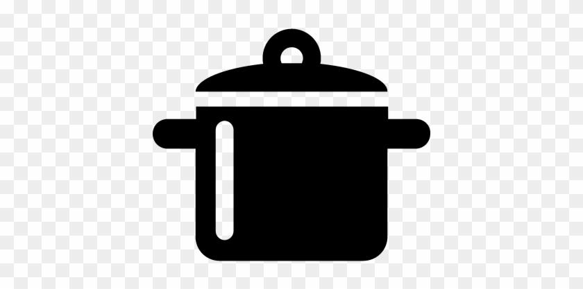 Saucepan Vector - Pan Icon Png #959455