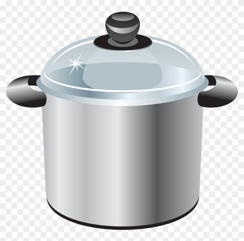Cooking Pot Clip Art - Cooking Pot Clipart Png #959862