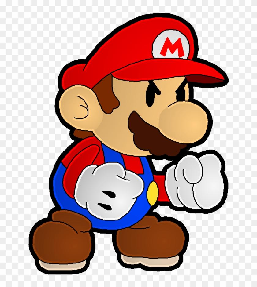 Mario Protector Of The Mushroom Kingdom By Leonidas23 Paper