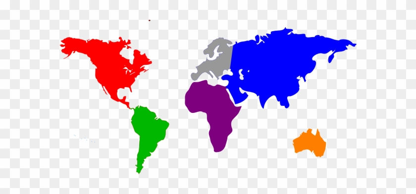 World Map To Color World Map Solid Color   Free Transparent PNG Clipart Images Download