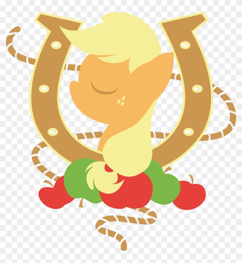 Rope Clipart Horseshoe - My Little Pony Horse Shoe #961648