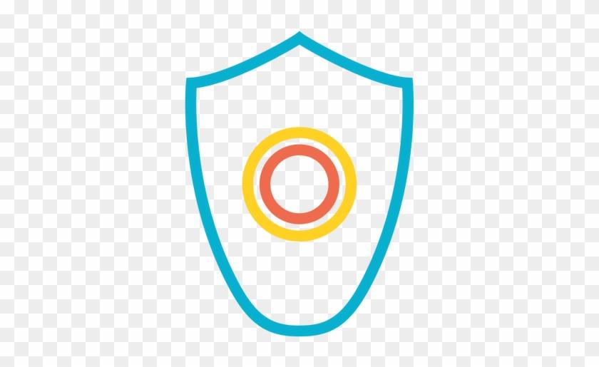 22 Free Icons, Icon Search Engine - Round Dark Blue & Light Blue Enamel Button Lapel #962555