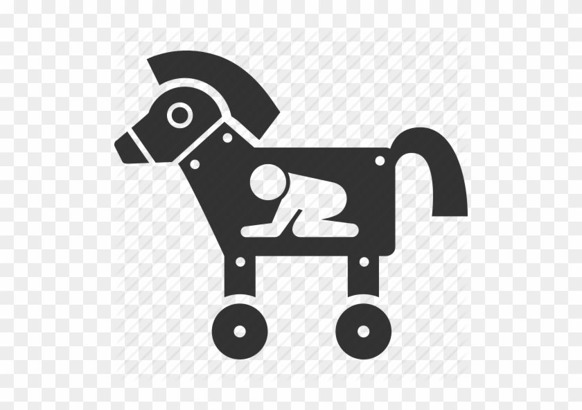 Trojan Horse Virus Icon - Trojan Horse Malware Icon - Free