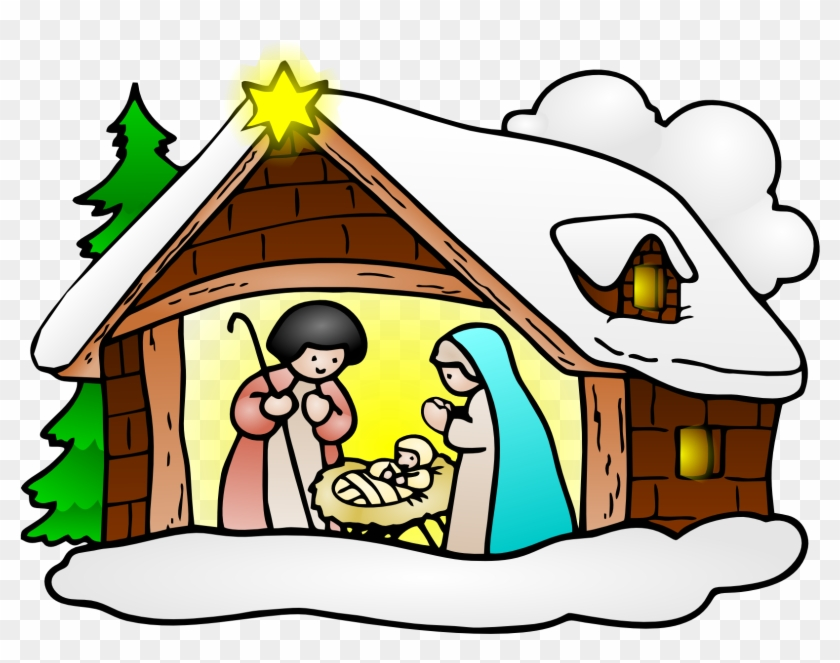 free to use public domain christmas clip art wishing merry rh clipartmax com christmas nativity clipart black and white christmas nativity clipart free