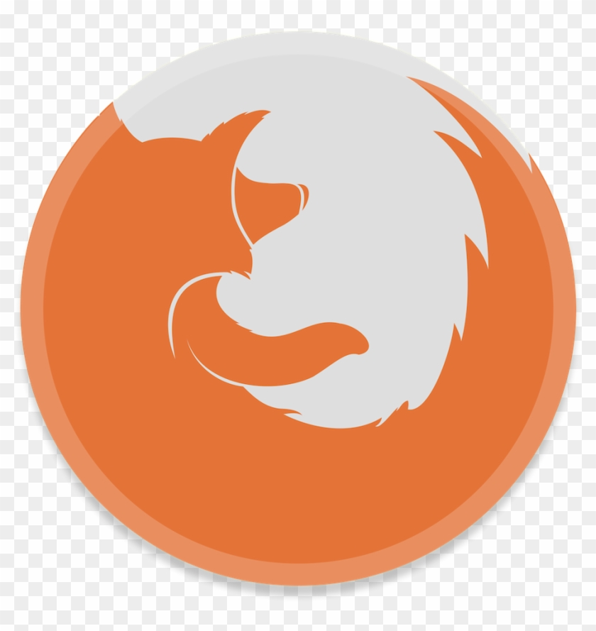 Free Icons Png - Mozilla Firefox White Logo Png #963592