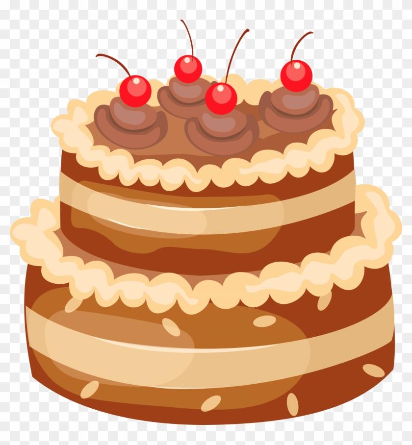 Chocolate Milk Clipart Transparent Background Birthday Cake