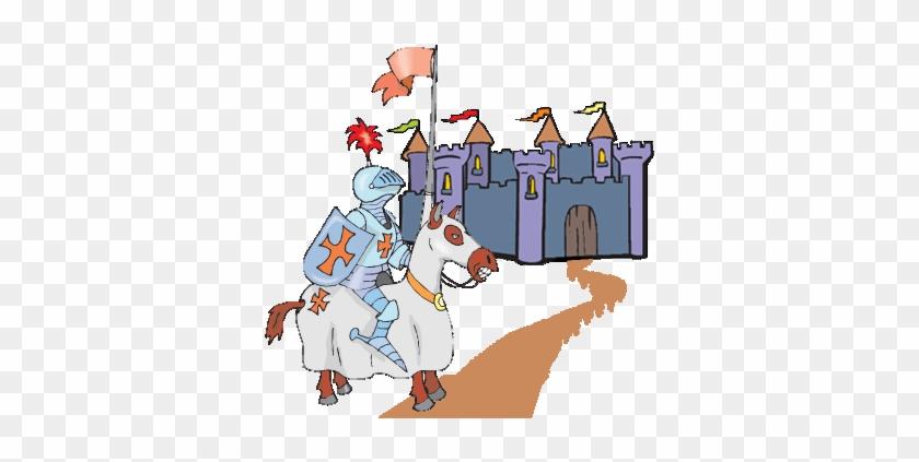 Fairy Tale Clipart Knight Castle - Knights In Fairy Tales #964701