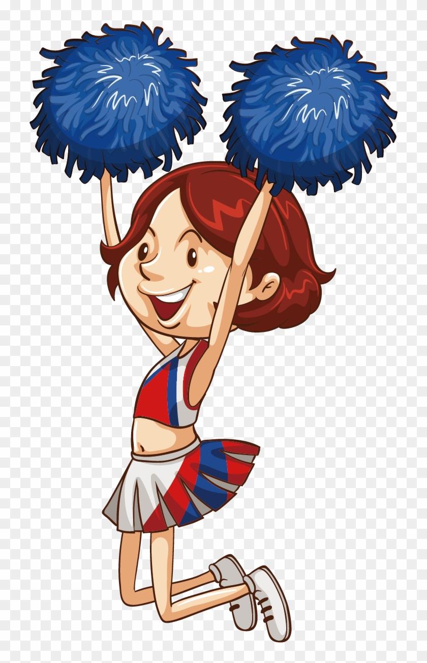 Cheerleading Pom Pom Royalty Free Clip Art - Doodle For Google Cheerleading #965249