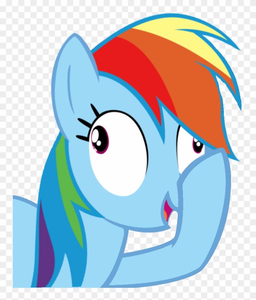Artiks, Derp, Facehoof, Female, Mare, Pegasus, Pony, - Rainbow Dash Join Us #965255