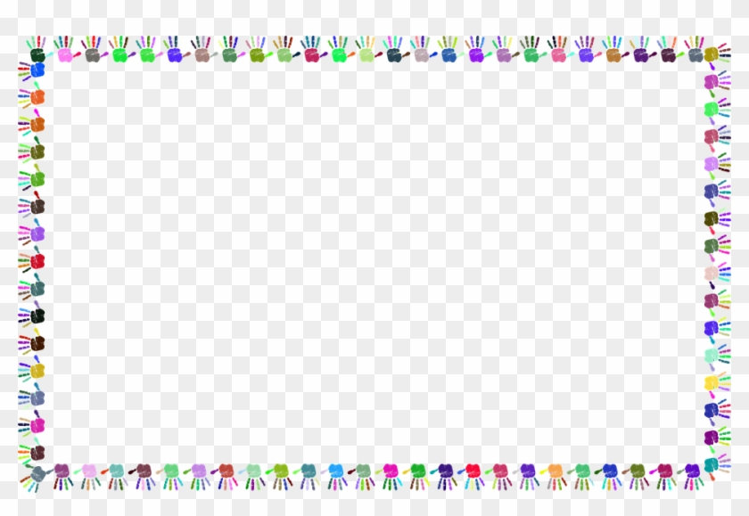 Free Baby Borders 5, Buy Clip Art - Frame Handprint Png - Free ...