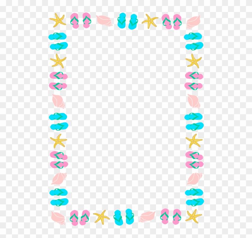 Summer Border Clip Art
