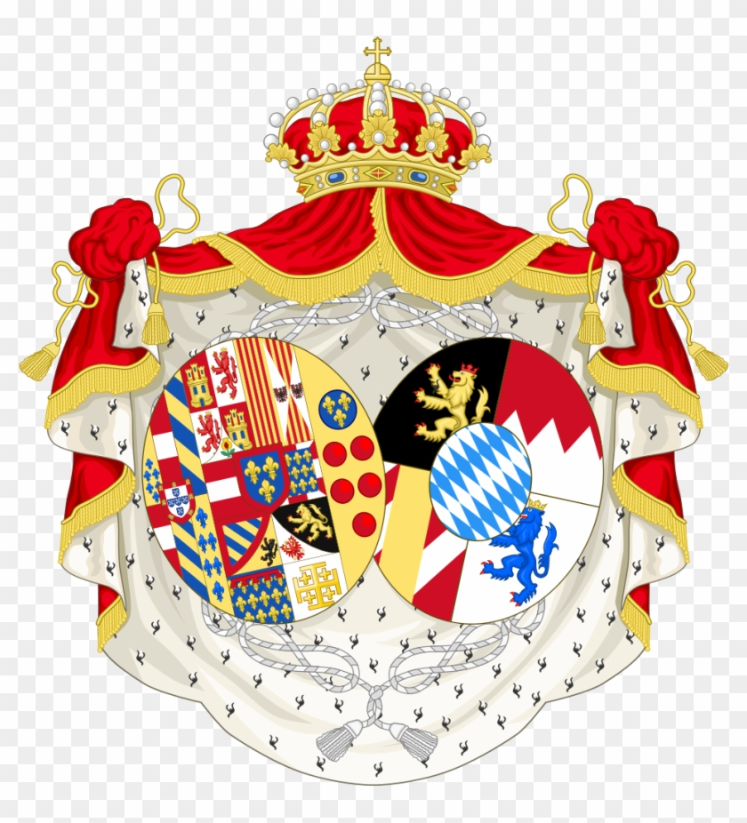 Coat Of Arms Of Maria Sophie, Queen Of The Two Sicilies - Polish Coat Of Arms #965914