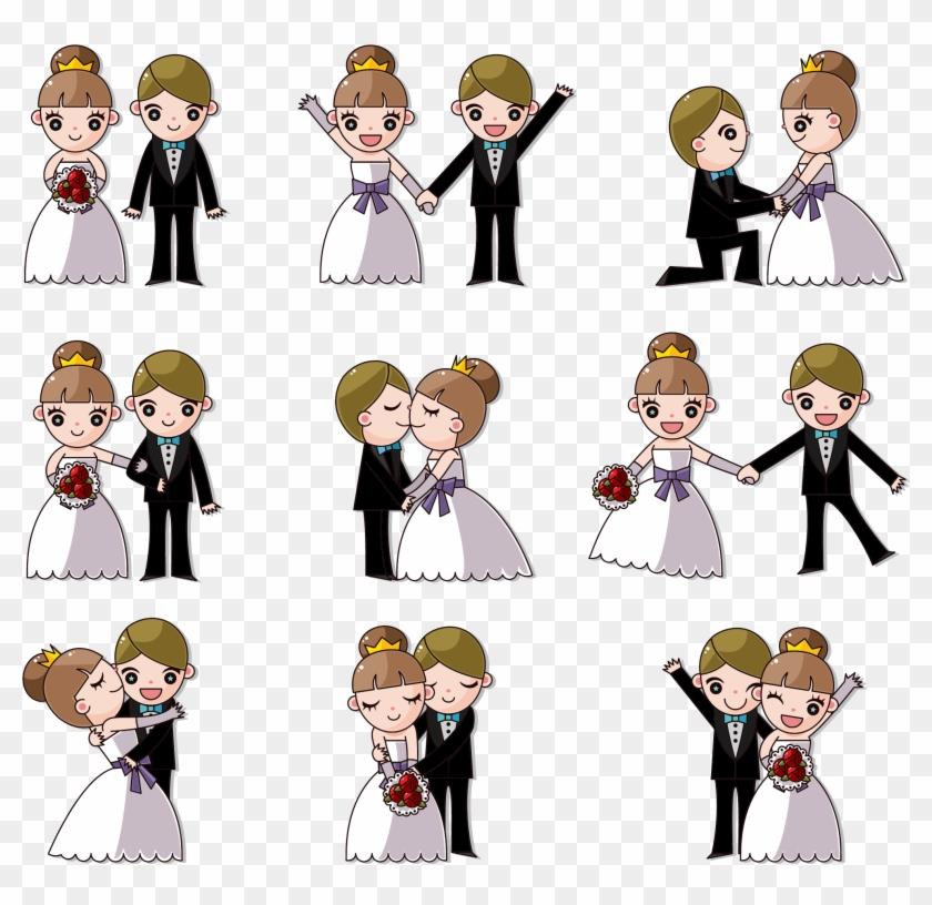 Wedding Invitation Cartoon Clip Art - Wedding Cartoon Free Download #966288