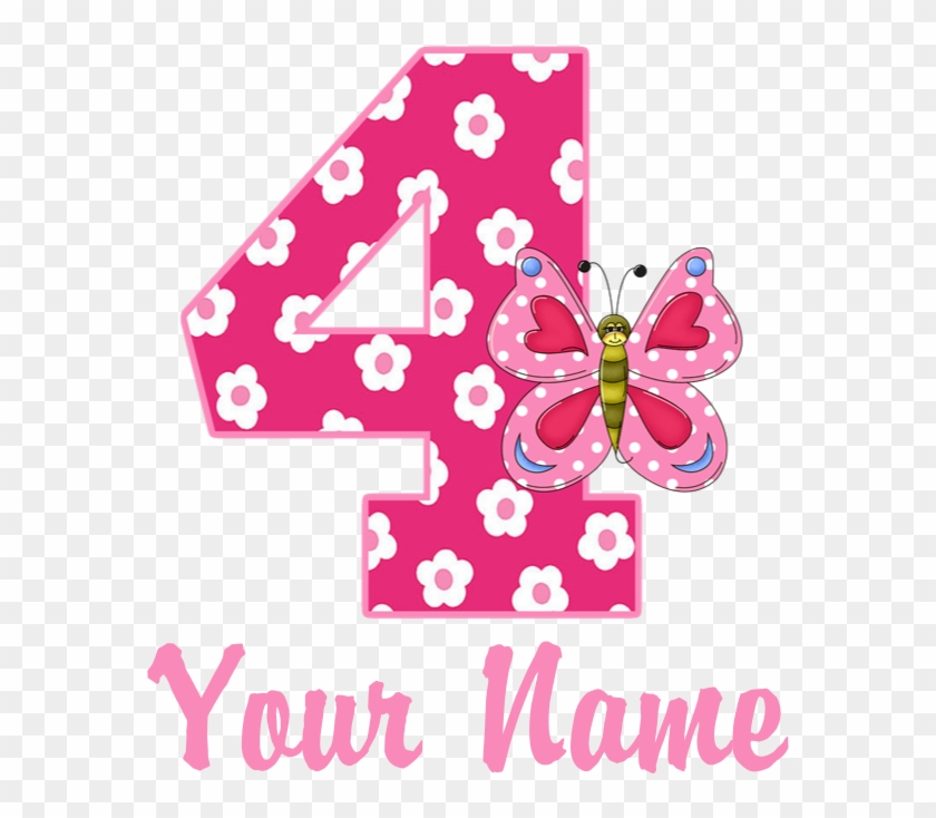 Favorite - 4th Birthday Number Png #966709