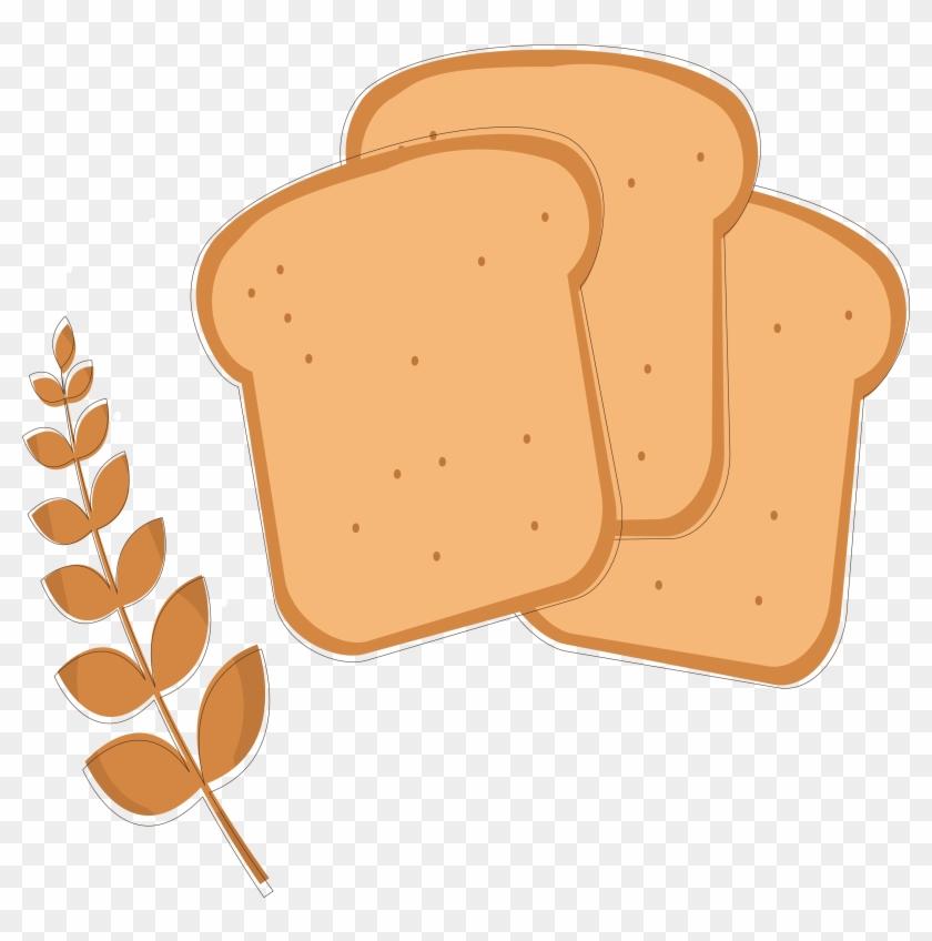 Toast Bread Wheat Clip Art - Bread #966880