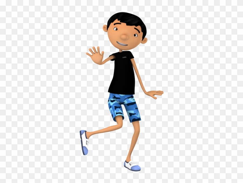 cool boy dancing pop music cartoon en 3d png free transparent