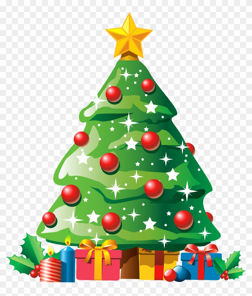 Christmas Tree Clipart With Gifts Png Best Web - X Mas Tree Clip Art #967314